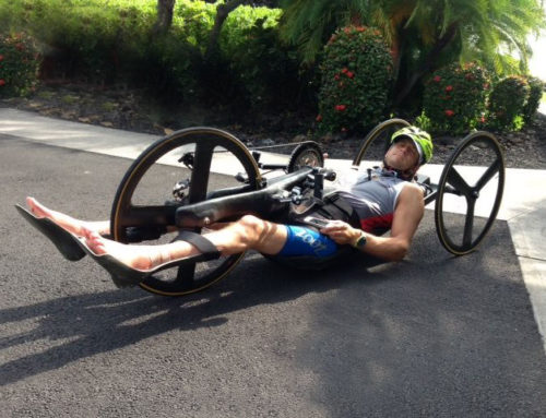 Custom Recumbent Handcycle