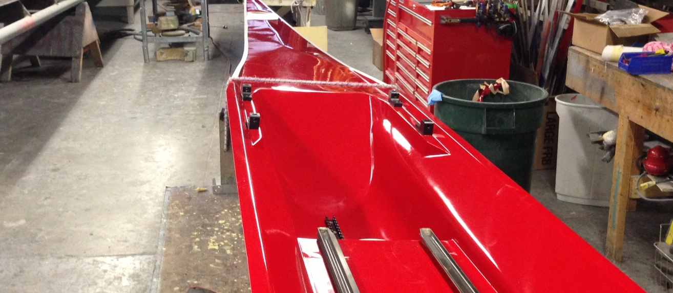 Van Dusen Racing Boats - Shell Construction
